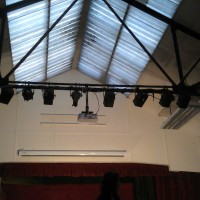 LWC Refurbishing Lighting Rig (2013)